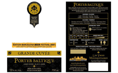 Les Trois Mousquetaires (Quebec) is in charge of the special edition of Barcelona Beer Festival 2020